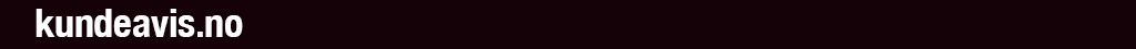 Logo kundeavis.no